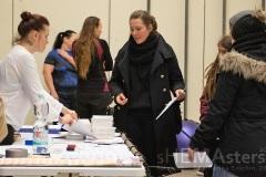 Samstag: Anmeldung. Alle Teilnehmerinnen werden registriert und bekommen ihren Stempelix Codex. Foto: © Katharina Baschin