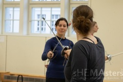 "Samstag: Workshop ""Stick them with the pointy end!"". Foto: © Katharina Baschin"